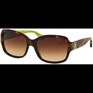 Coach tortoise shell sunglasses